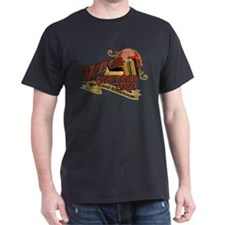 Motorcyclist cafe barn & bunk T-Shirt