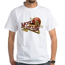 Motorcyclist cafe barn & bunk Shirt