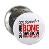"I Survived a Bone Marrow Transplant 2.25"" Button"