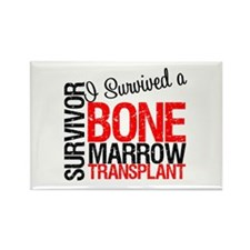 I Survived a Bone Marrow Transplant Rectangle Magn