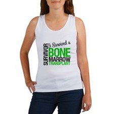 I Survived a Bone Marrow Transplant Women's Tank T