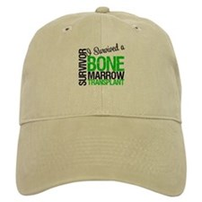 I Survived a Bone Marrow Transplant Baseball Cap