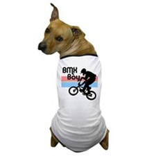 1980s BMX Boy Dog T-Shirt
