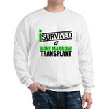 I Survived a Bone Marrow Transplant Sweatshirt