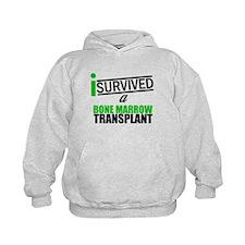 I Survived a Bone Marrow Transplant Kids Hoodie