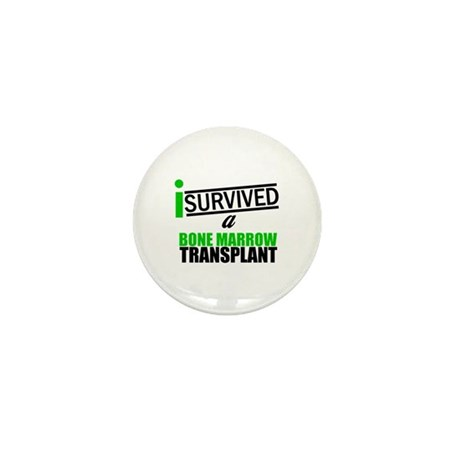 I Survived a Bone Marrow Transplant Mini Button