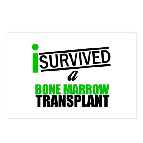 I Survived a Bone Marrow Transplant Postcards (Pac