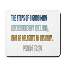 Psalms 37:23 Mousepad