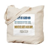 Psalms 37:23 Tote Bag