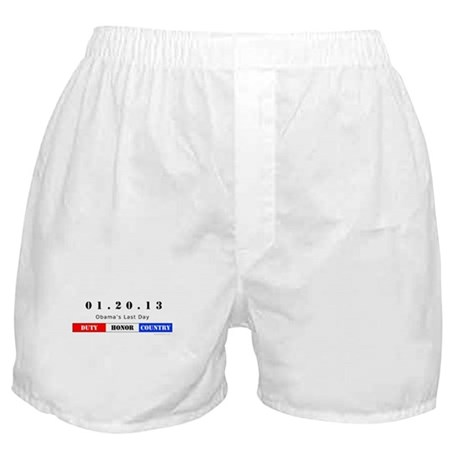 1.20.13 - Obama's Last Day Boxer Shorts