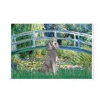 Bridge/Std Poodle silver) Mini Poster Print