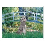 Bridge/Std Poodle silver) Small Poster