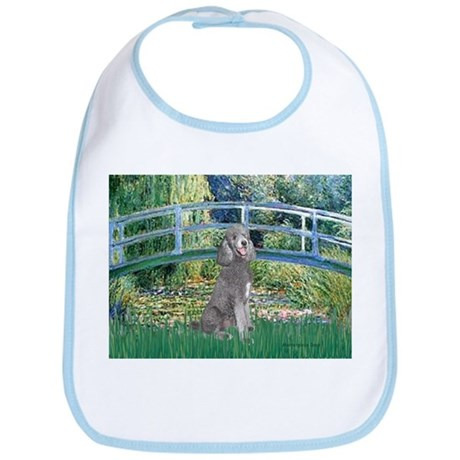 Bridge/Std Poodle silver) Bib