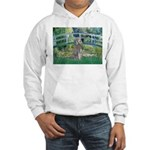 Bridge/Std Poodle silver) Hooded Sweatshirt