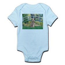 Bridge/Std Poodle silver) Infant Bodysuit