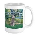 Bridge/Std Poodle silver) Large Mug