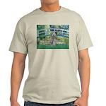 Bridge/Std Poodle silver) Light T-Shirt