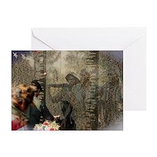 Vietnam Veterans' Memorial Greeting Cards (Pk of 1