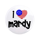 I Love Mardy (Fish) 3.5&amp;quot; Button