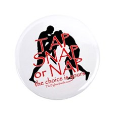 "Tap Snap or Nap 3.5"" Button (100 pack)"
