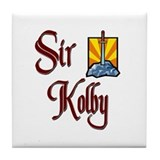 Sir Kolby Tile Coaster