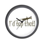 Funny Phlebotomy & Nursing Wall Clock