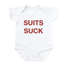 Suits Suck Infant Bodysuit