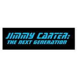 Jimmy Carter: TNG Bumper Sticker (10 pack)