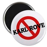 Anti Karl Rove 2.25&quot; Magnet (10 pack)