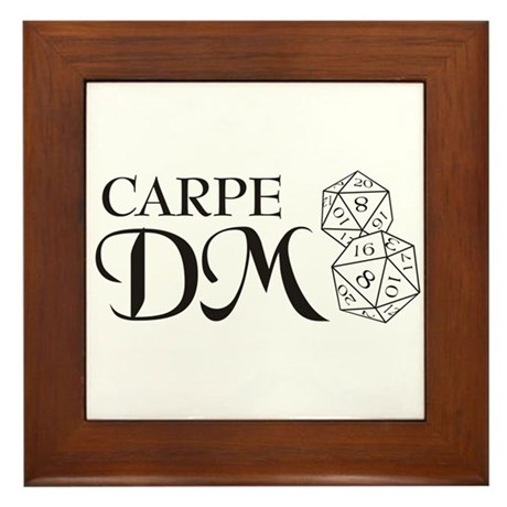 Carpe DM Framed Tile