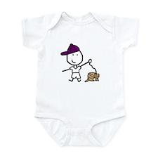 Boy & Ferret Infant Bodysuit