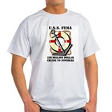 FEMA Cruise Ships Ash Grey T-Shirt