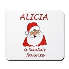 Alicia Christmas Mousepad