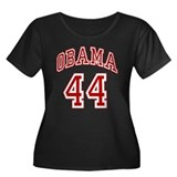 Barack Obama 44th President Women's Plus Size Scoo
