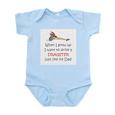WIGU Dragster Dad Infant Bodysuit