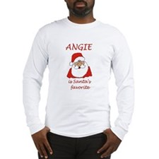 Angie Christmas Long Sleeve T-Shirt