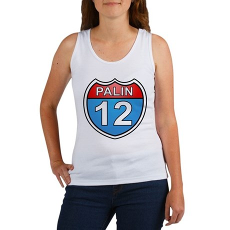 Sarah Palin '12 Women's Tank Top