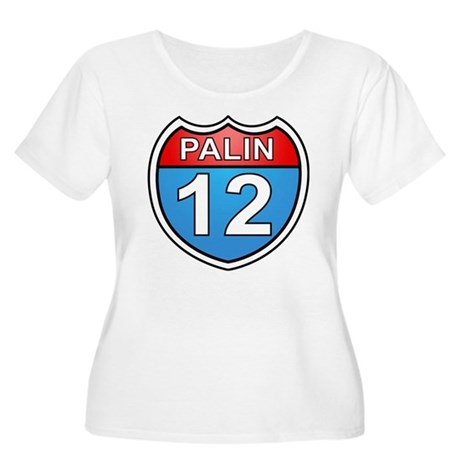 Sarah Palin '12 Women's Plus Size Scoop Neck T-Shi