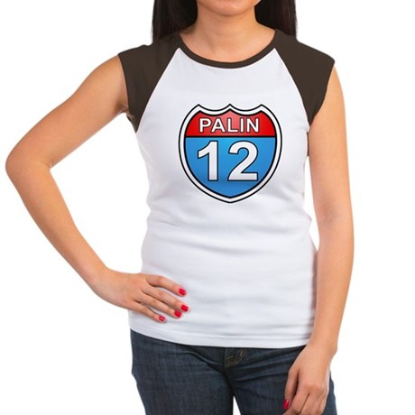 Sarah Palin '12 Women's Cap Sleeve T-Shirt