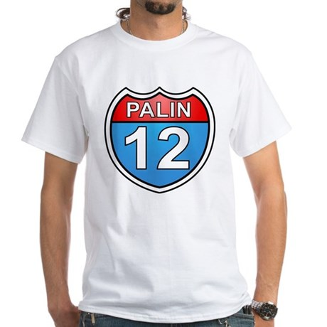 Sarah Palin '12 White T-Shirt