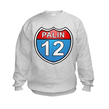 Sarah Palin '12 Kids Sweatshirt