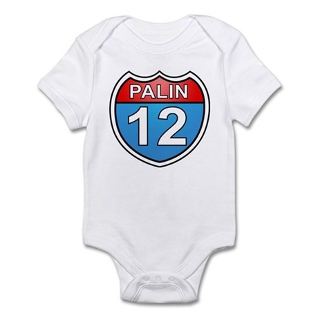 Sarah Palin '12 Infant Bodysuit
