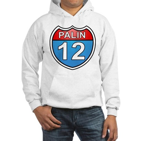 Sarah Palin '12 Hooded Sweatshirt
