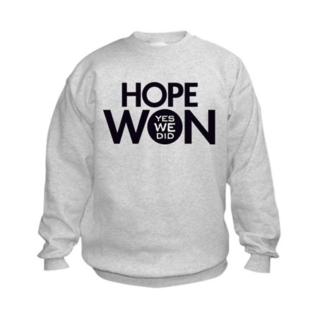 Hope Won Kids Sweatshirt