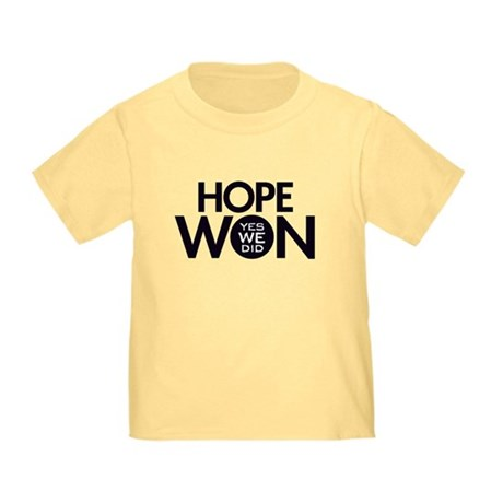 Hope Won Toddler T-Shirt