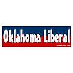 Oklahoma liberal bumper sticker