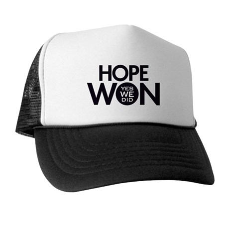 Hope Won Trucker Hat