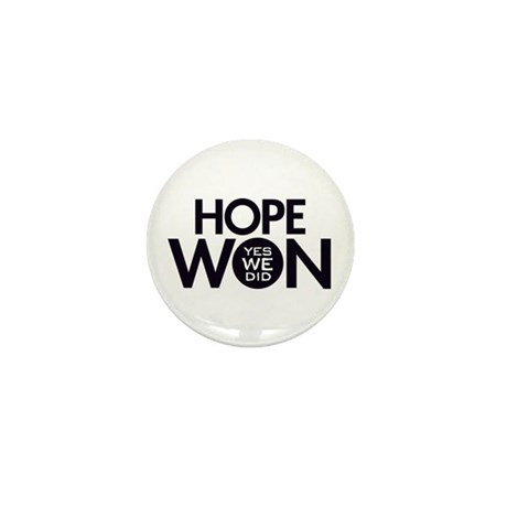 Hope Won Mini Button