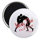 Muay Thai Fighter 2.25&quot; Magnet (100 pack)