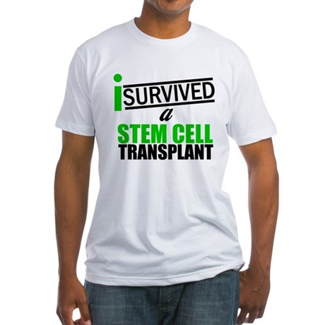 StemCellTransplant Survivor Fitted T-Shirt